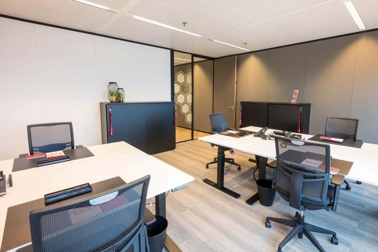 Flexibele werkplek Amstelplein 8, Amsterdam
