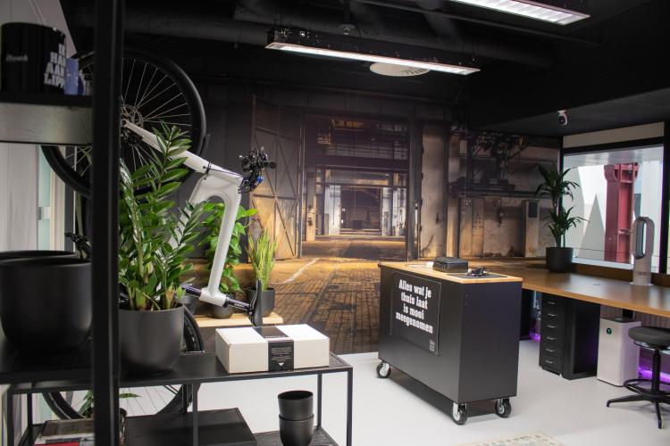 Virtueel kantoor Entrepotgebouw, Rotterdam