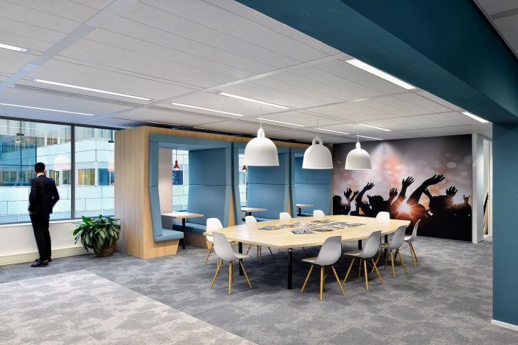 Flexibele bedrijfsruimte Herikerbergweg 1-35, Amsterdam