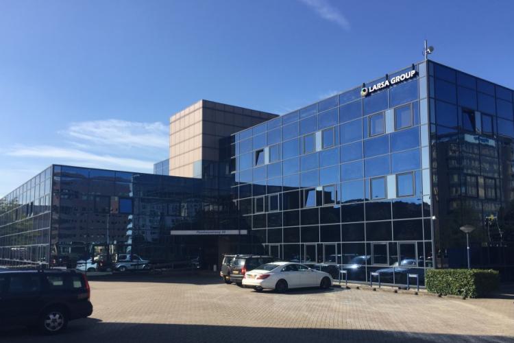 Kantoorruimte: Paasheuvelweg 39-50 in Amsterdam