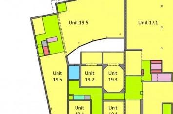 Ingericht kantoor Stationsweg 17-19, Tilburg
