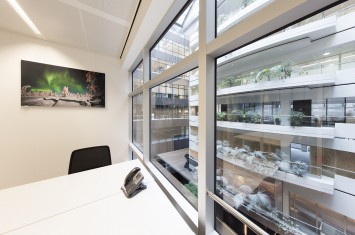 Ingerichte kantoorunit Strawinskylaan 3051, Amsterdam